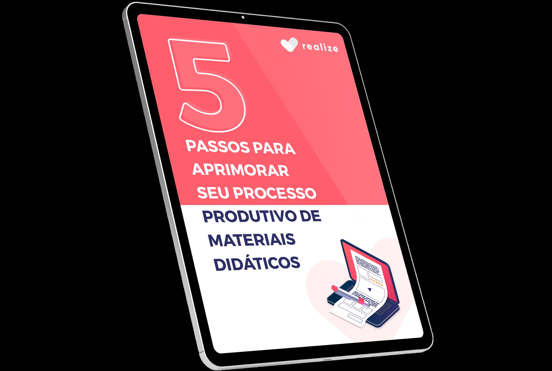 E-book 5 Passos para Aprimorar seu Processo Produtivo de Materiais Didáticos - Como calcular carga horária de cursos